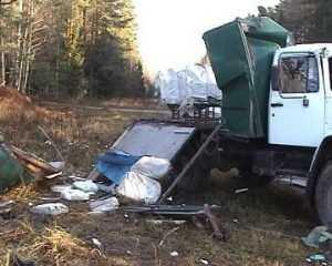 Лед на дорогах стал причиной двух страшных ДТП