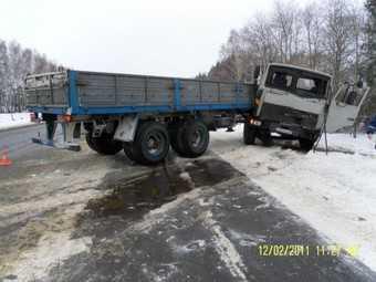 Водителя МАЗа будут судить за роковой занос, унесший жизни троих человек