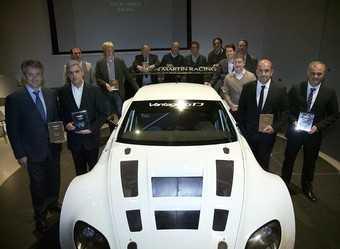 Aston Martin наградил лучших гонщиков