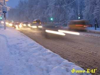 Раньше всех от снега очистили улицы толстосумов