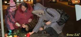 На Московском проспекте сбили беременную женщину
