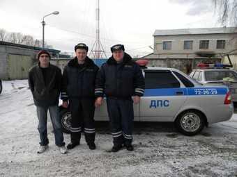 Гаишники задержали пьяных грабителей