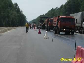 Роставтодор: на Киевской трассе будут фонарики вместо полос