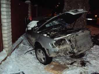Два брянца погибли на «необработанной, неочищенной» дороге