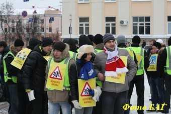 «Берегите жизнь!» — такой призыв прозвучал на главной площади Брянска