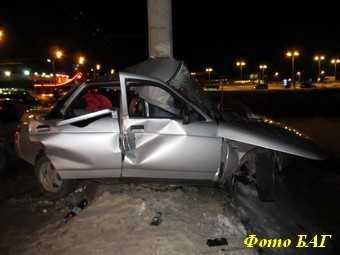 Покалечившегося около «Метро» водителя ловили пьяным за рулем