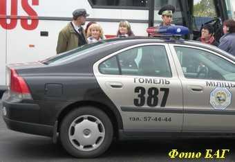 В Клинцах задержали белорусских угонщиков