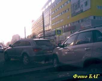 Межторговая пробка на Красноармейской