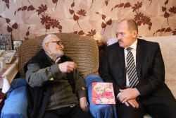 Брянцу Семену Галушке исполнилось 103 года