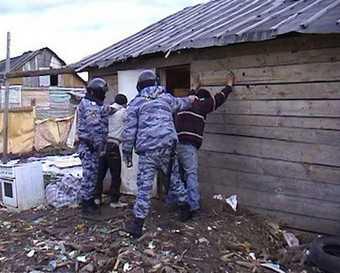 После проверки 18 цыган доставили на допрос
