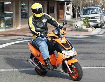 Брянские воры пересаживаются на скутеры