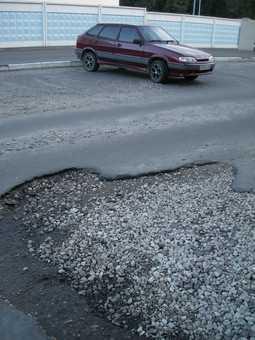 Чиновники посчитали дефекты на дорогах