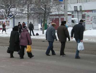 Пешеходы будут ходить с протянутой рукой