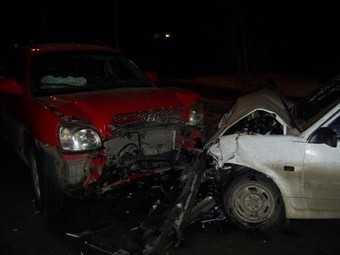 Пьяная брянская автомобилистка покалечила двоих человек
