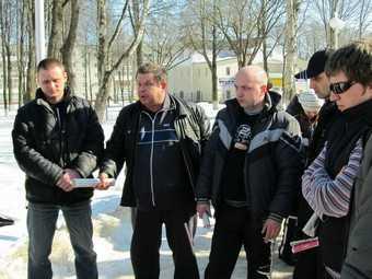 Брянские дорожные бунты начались с Дятькова. Видео