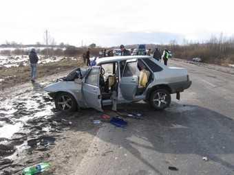 ДТП в Почепе: лобовое столкновение покалечило шестерых