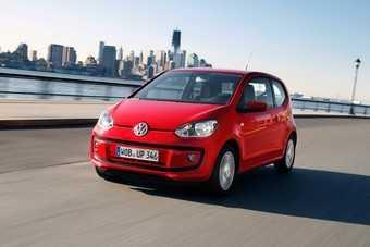 Volkswagen up! — лучший автомобиль года в мире
