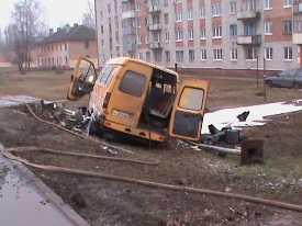 ДТП на Московском: водитель купил медицинскую справку