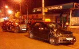 Брянский таксист устроил ночное бодание своему коллеге