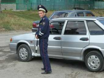 Брянских гаишников избили приятели пьяного водителя