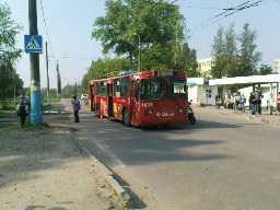 Жительница Брянска попала под троллейбус