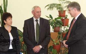 Представитель посольства Германии познакомился с брянскими лицеистами