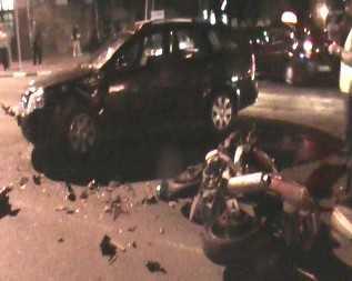 На проспекте Ленина в Брянске разбился мотоциклист