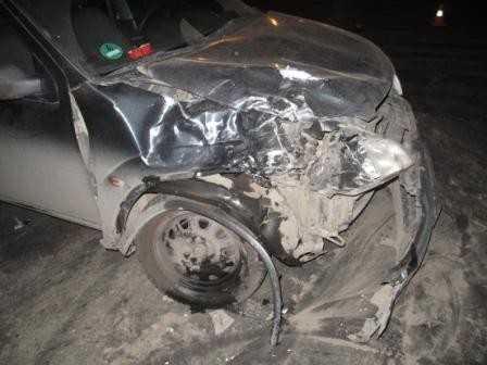Брянского мотоциклиста отвезли в больницу после столкновения с Сузуки