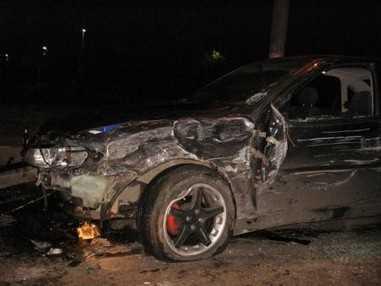 Во время ночной езды без света водитель ВАЗ протаранил три автомобиля