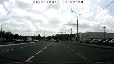 Очередное ДТП на Московском проспекте