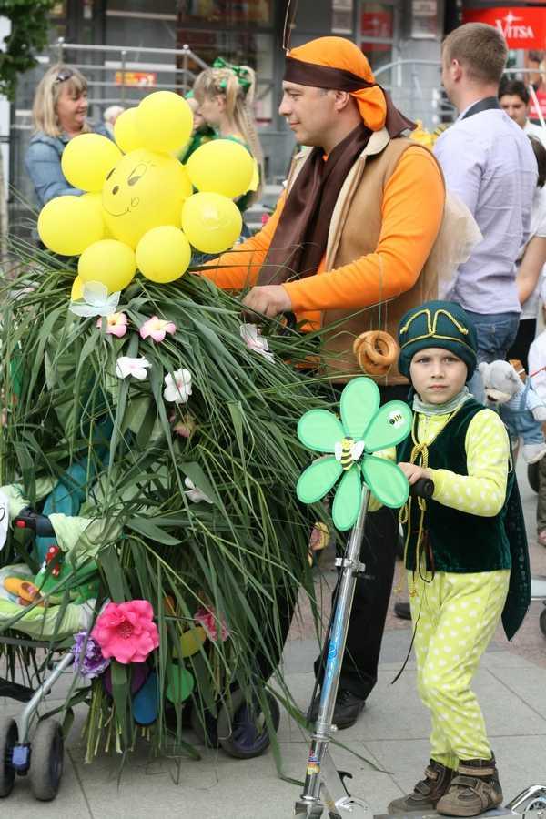 В Брянске прошел  четвертый фестиваль парада на колесах