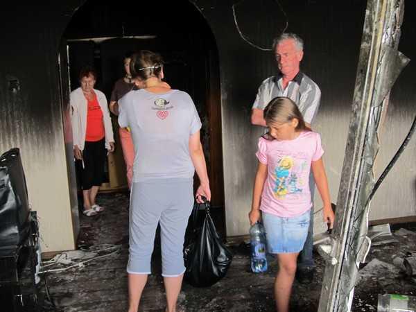 Брянскую девочку от огня спасло невероятное стечение обстоятельств