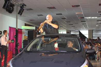 Брянским автолюбителям представили новый KIA Ceed