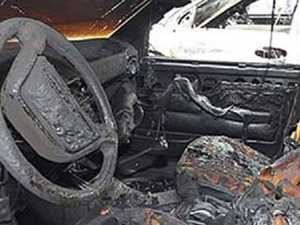 Сгоревшую в Дятьково машину могли поджечь