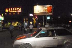 В Брянске напали на дорожных полицейских