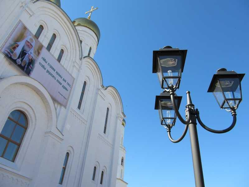 Патриарх Кирилл освятил в Брянске кафедральный собор