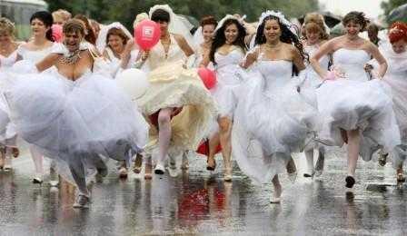 Брянские невесты перекроют центр города