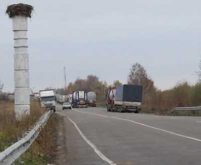 На брянском участке границы с Украиной резко вырос поток пассажиров