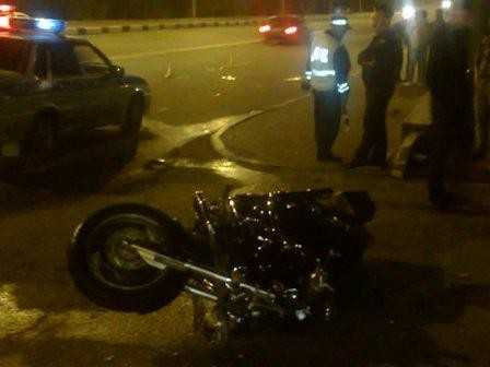 В Брянске разбился мотоциклист