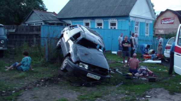 Жуткая авария потрясла брянское село Лопушь