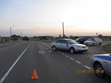 Пьяный брянский пешеход кинулся под колеса авто