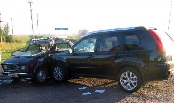 Пожилой водитель «семерки» пострадал на перекрестке
