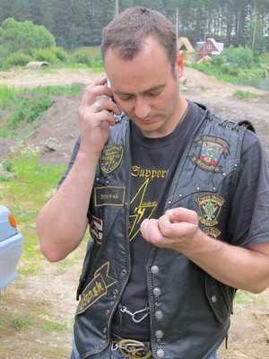 В Брянск приехал представитель немецкого мотоклуба