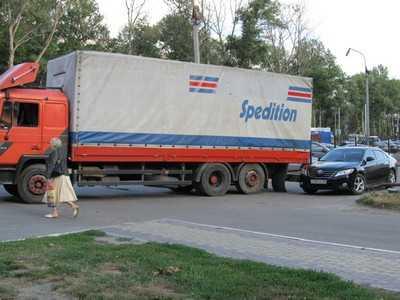 На захваченной в Брянске дороге случилось новое ДТП