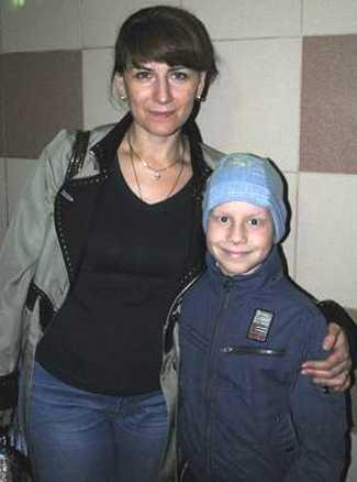Нуждающийся в лечении брянский мальчик Леша Чумин едет в Германию