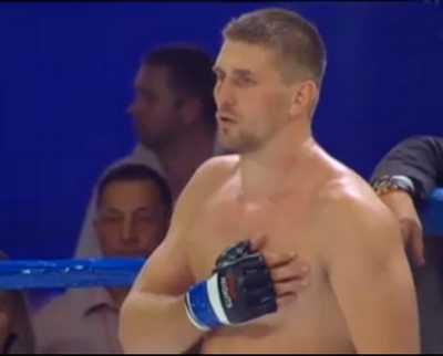 Виталий Минаков победил нокаутом Фабьяну Шернера