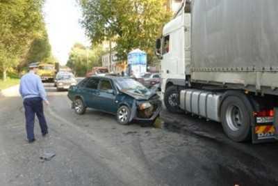 Брянского водителя наказали за употребление алкоголя после ДТП