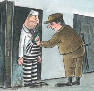 Брянский тюремщик помогал зэку из соседней колонии