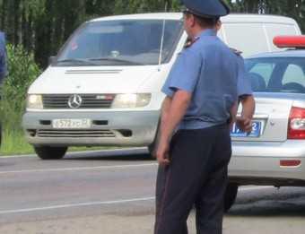 Брянского гаишника оштрафовали на 45 взяток