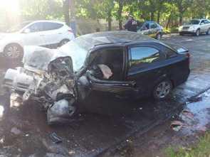 Пожилой брянский водитель получил в ДТП инсульт
